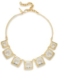 Lele Sadoughi Looking Glass Necklace - Lyst