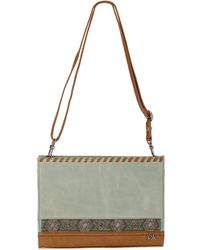The Sak Iris Demi Clutch Bag - Lyst