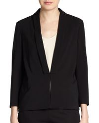 Brunello Cucinelli Wool Shawl-Collar Jacket - Lyst