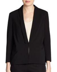 Brunello Cucinelli Wool Shawl-Collar Jacket - Lyst