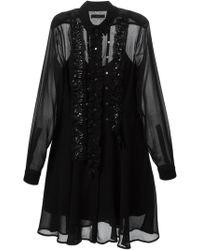 Diesel D-taya Shirt Dress - Lyst