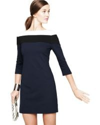 Trina Turk Color Blocked Dress - Lyst