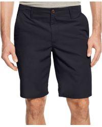 Dockers Straight-fit Poplin Shorts - Lyst