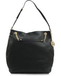 Michael Kors Lg Jet Set Chain Shoulder Bag - Lyst