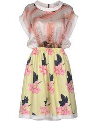 Venera Arapu Short Dress - Lyst