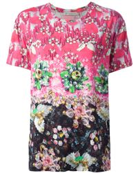 Mary Katrantzou Jewel Floral Print T-Shirt - Lyst