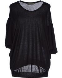 Balenciaga Black Sweater - Lyst