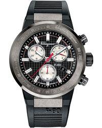 Ferragamo F-80 Titanium Chronograph Watch - Lyst