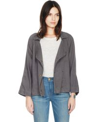 Current/Elliott The Conductor Jacket gray - Lyst