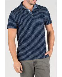 Faherty Brand Jersey Beach Polo blue - Lyst