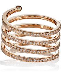 Stone - Women's Vertigo Ring - Lyst