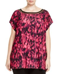 Mynt | 1792 Abstract Print Crossback Top | Lyst