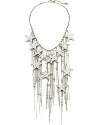 Ben Amun Star Fringe Necklace - Lyst