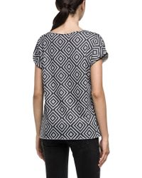 Replay - Cotton Blend Optical Sweatshirt - Lyst