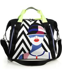Monreal London Tampa Printed Tote multicolor - Lyst