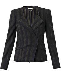 Etoile Isabel Marant Julia Wool-Blend Jacket - Lyst