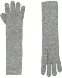 Harrods Long Cashmere Gloves - Lyst