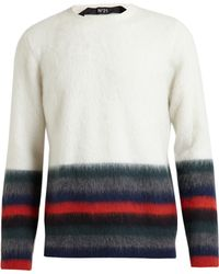No.21 Striped Mohair Knit - Lyst
