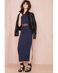 Nasty Gal Middle Linger Dress - Lyst