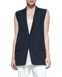 Rag & Bone Francois Wool-Crepe Suit Vest - Lyst