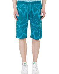 Baja East - Intarsia-Knit Shorts - Lyst