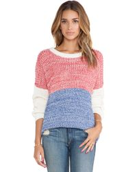 Mink Pink Frosty Heat Pullover - Lyst