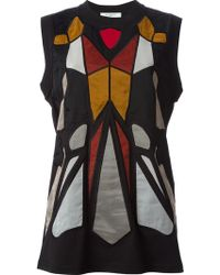 Givenchy Stain Glass Tank Top - Lyst