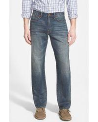 Lucky Brand '329 Classic' Straight Leg Jeans - Lyst