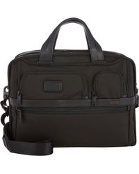 Tumi Alpha Ii Expandable Organizer Laptop Briefcase - Lyst