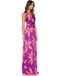 Issa Hazelle Maxi Dress - Lyst