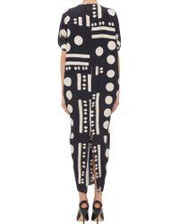 Zero + Maria Cornejo Tribal-Dot Koya Dress - Lyst