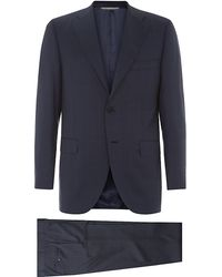Canali Classic Prince Of Wales Suit - Lyst