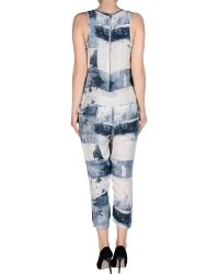 Superfine - Trouser Dungaree - Lyst
