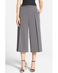 Chelsea28 Nordstrom - Pleat Front Culottes - Lyst