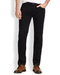 7 For All Mankind Luxe Performance: Slimmy Slim Straight-Leg Jeans - Lyst