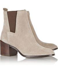 Pour La Victoire Fara Suede Ankle Boots - Lyst