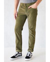 Levi's 511 Corduroy Slim Fit Pant - Lyst