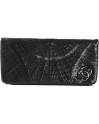Chanel Sequined Clutch - Lyst