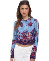 Nanette Lepore Roam Free Shirt - Lyst