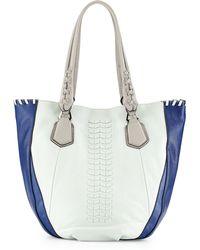orYANY Lyssie Colorblock Tote Bag blue - Lyst