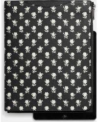 Coach Slim Zip Tablet Case In Printed Crossgrain Leather - Lyst