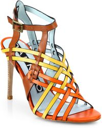 DANNIJO - Dian Leather Sandals - Lyst