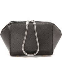 Alexander Wang Chastity Embossed Clutch  Carbon - Lyst