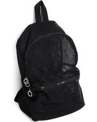 Pull&Bear - Mesh Backpack - Lyst