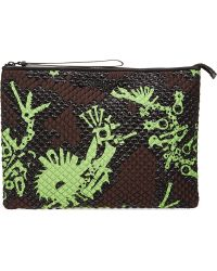 Kenzo Quilted Pouch Absinthe - Lyst
