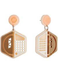 Tatty Devine - Spaceship Earrings - Lyst