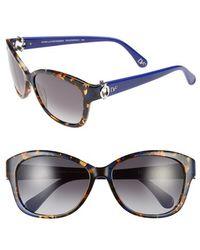 Diane von Furstenberg 'Ashley' 58Mm Sunglasses - Lyst