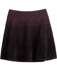 A.L.C. Intarsia Stretch Skirt - Lyst