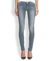 True Religion Jude Lowrise Skinny Jeans - Lyst