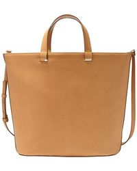 Skagen Leather Tote - Lyst